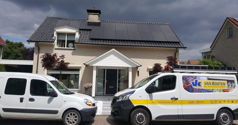 Zonnepanelen op woning - Van Kooten